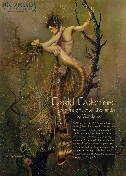 Peek Inside the New Mermaids & Mythology Magazine | FAE