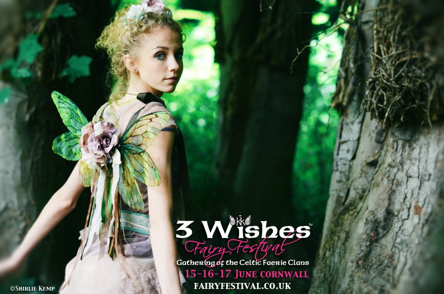 we start with 3 wishes fairy festival as the uks first fairy festival with outdoor music stages and camping this years festival celebrates the twelfth